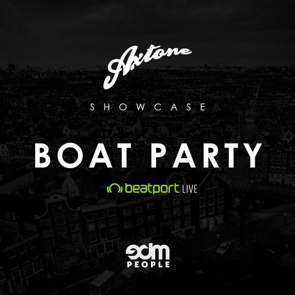 Axtone ADE 2015 Showcase Boat Party | DJ sets & Playlists