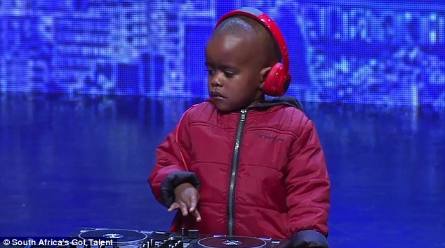 Meet Arch Jnr: The three-year-old DJ from South Africa!