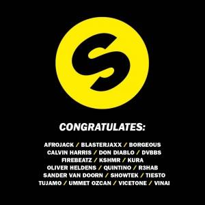 Spinnin' Records congratulates DJ Mag Top 100 artists!