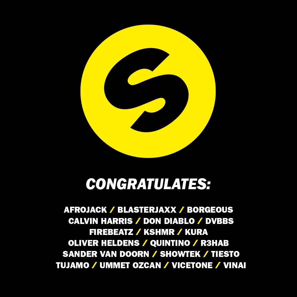 spinnin-congratulates
