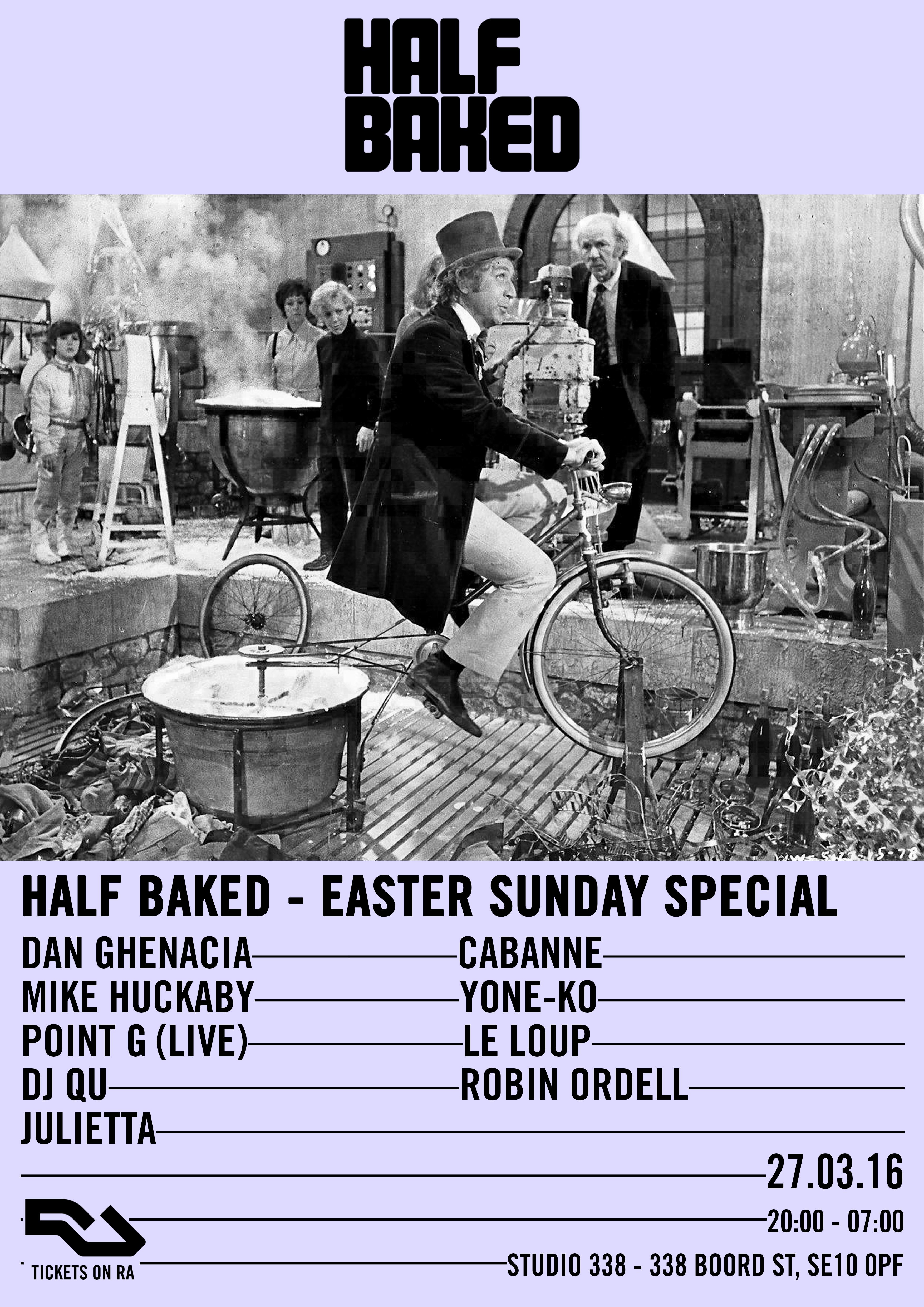 Half Baked Announce
