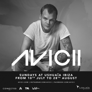 Avicii to Return to Ushuaïa Ibiza Beach Hotel for Fifth Year as Weekly Resident From 10th July – 28th August