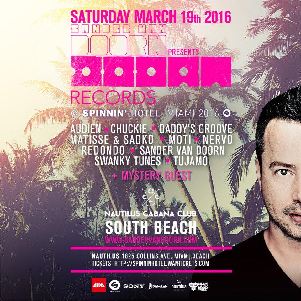 DOORN Records Miami 2016 | Official Trailer