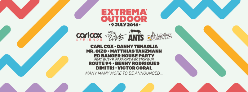 Extrema Outdoor NL Returns for 21st year with ANTs, Carl Cox and Ed Banger Records Stages