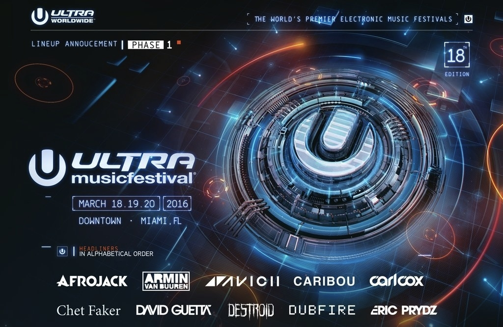 Ultra Music Festival Miami Lineup and Set Times