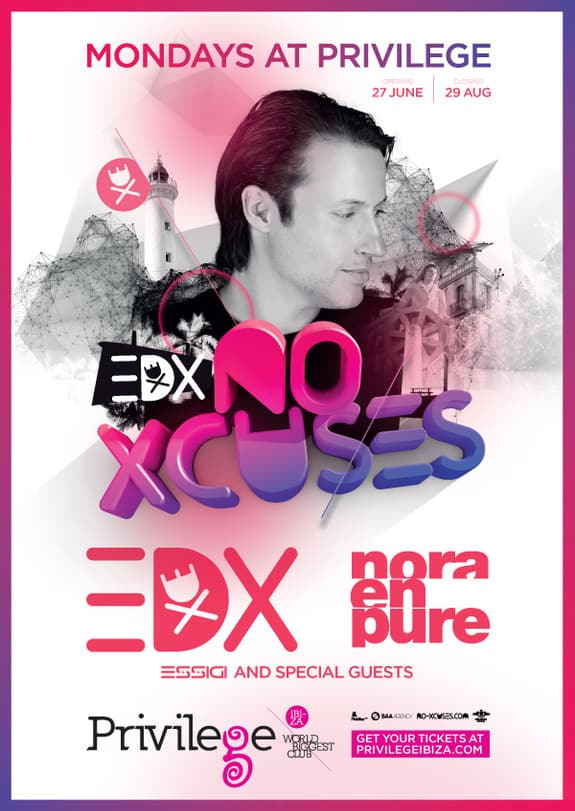 EDX Announces Summer Residency at Privilege Ibiza