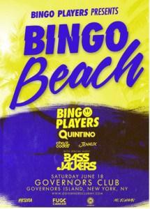"Bingo Players host ""Bingo Beach"" at Governors Club NYC On Saturday June 18"