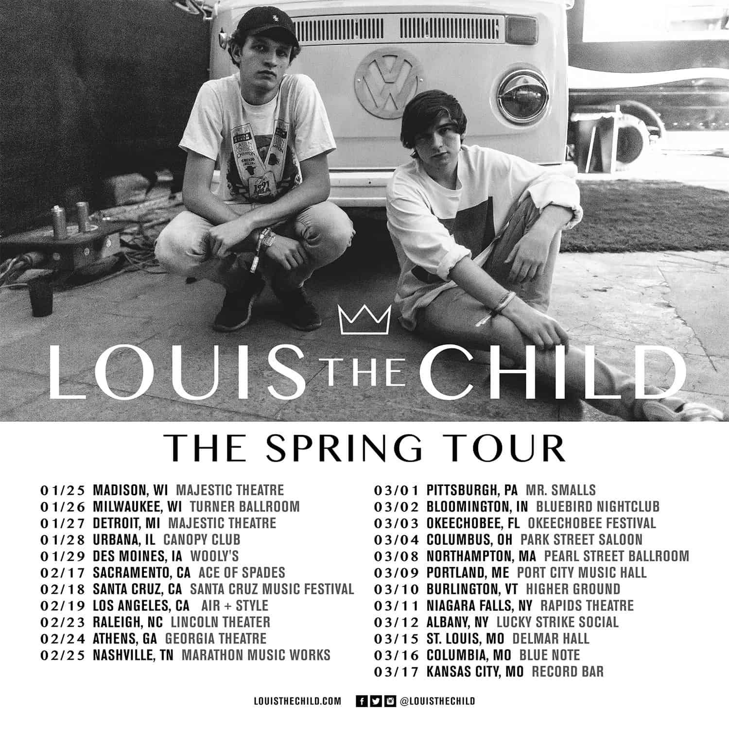 Louis The Child Announce 2017 US Tour Dates