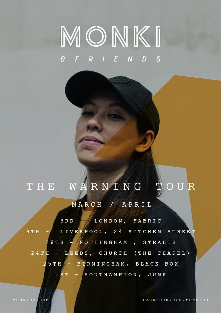 BBC Radio 1 DJ Monki Announces 'The Warning' UK Tour