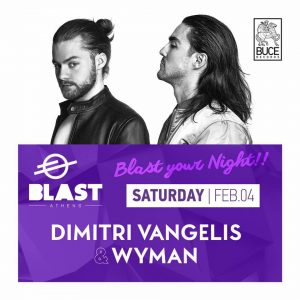 Dimitri Vangelis & Wyman Present: Buce Records Label Night In Athens