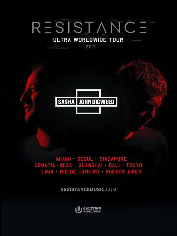 RESISTANCE Announces Ibiza Ρesidency at Privilege – Sasha/Digweed