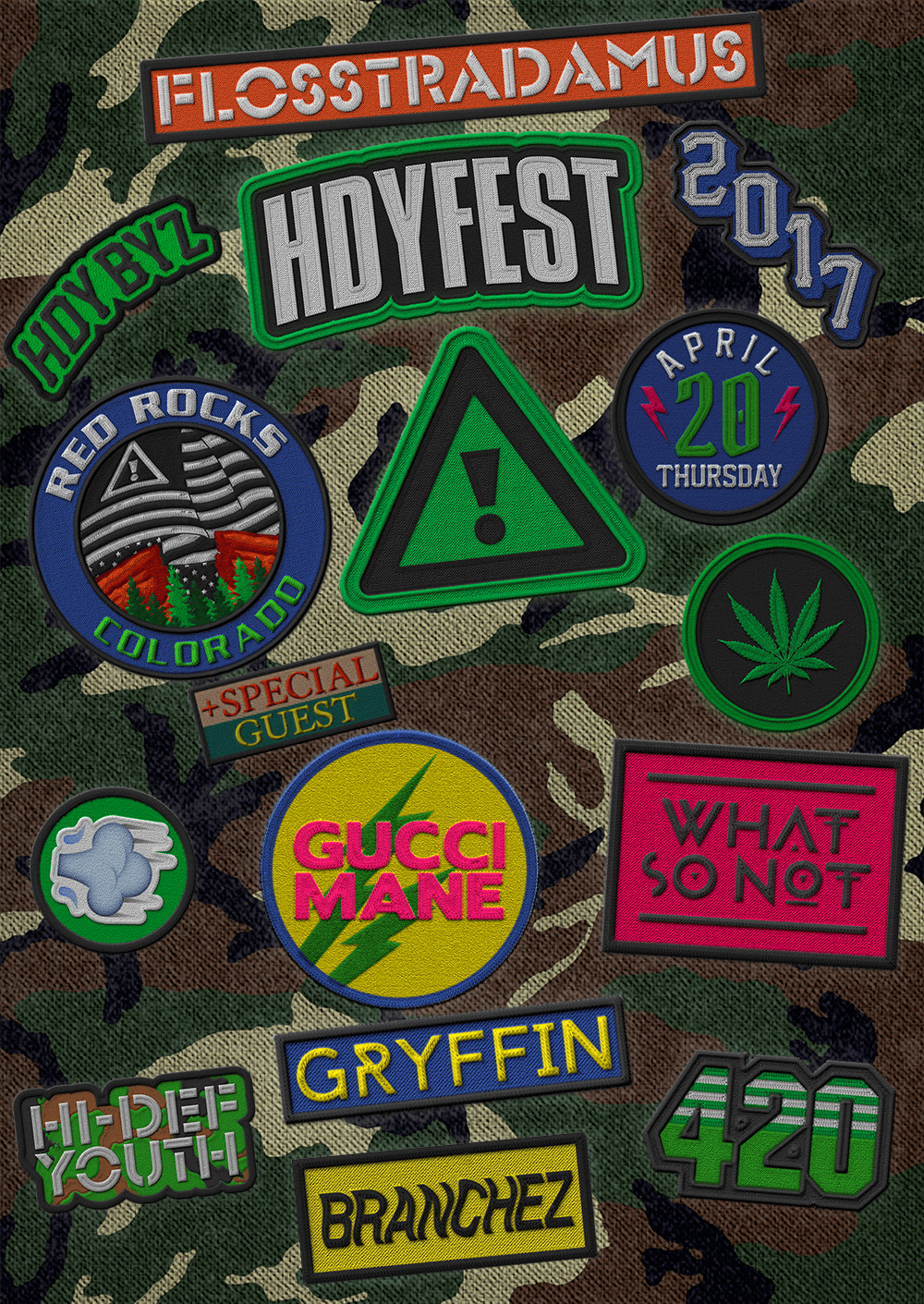 Gucci Mane added to Flosstradamus' HDYFEST 420