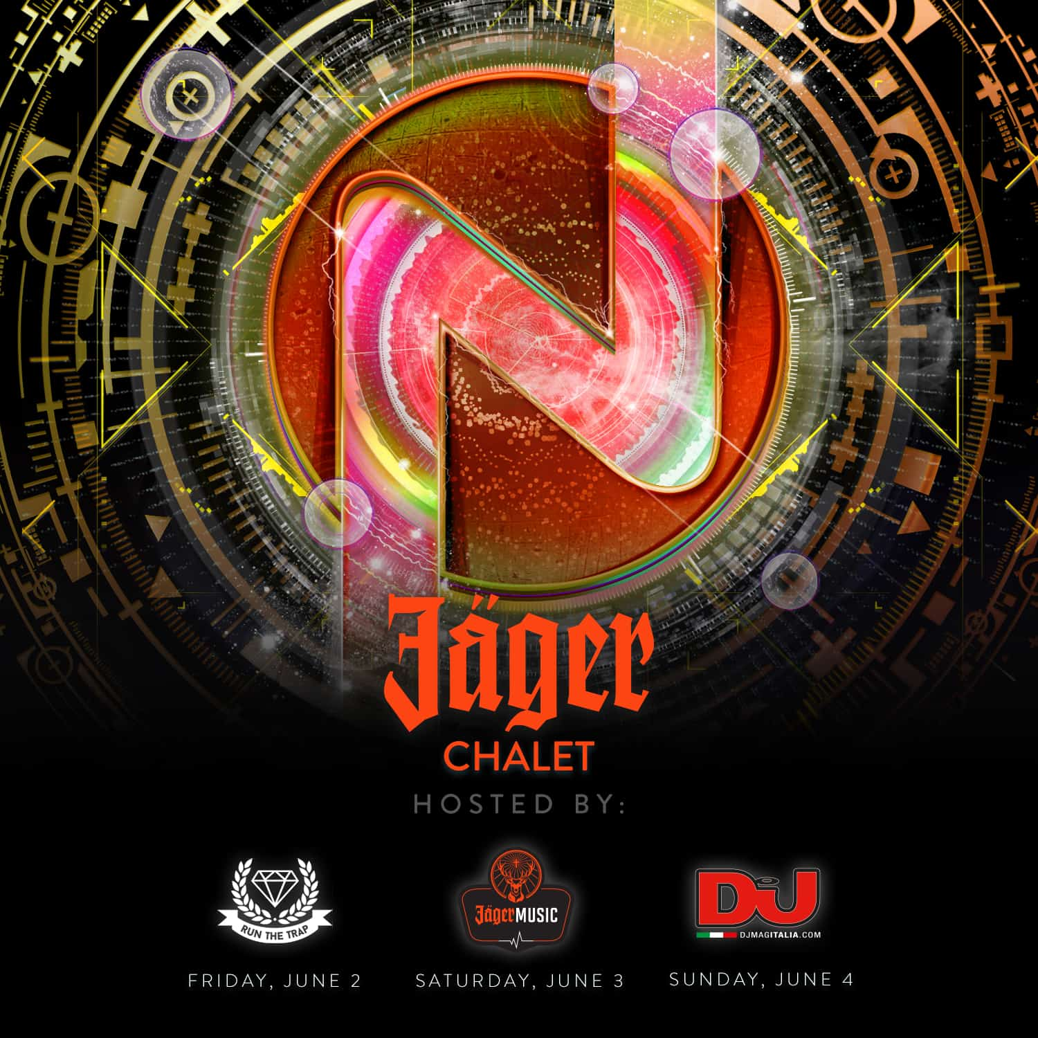 Nameless Music Festival Adds Exclusive Jager Chalet Stage
