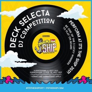 IT'S THE SHIP' UNVEILS MASSIVE INTERNATIONAL 'DECK SELECTA' COMPETITION