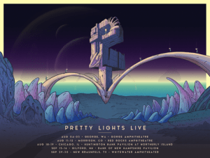 Pretty Lights reveals two new Episodic Tour stops in New Hampshire and Texas