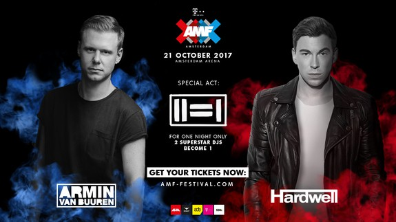 AMF ANNOUNCES ARMIN VAN BUUREN & HARDWELL FIRST EVER B2B PERFORMANCE