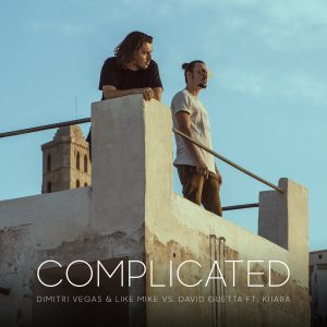 DIMITRI VEGAS & LIKE MIKE VS DAVID GUETTA FEAT. KIIARA RELEASE THE STUNNING IBIZA VISUALS FOR 'COMPLICATED'.