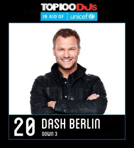 DASH BERLIN CELEBRATES 8 YEARS OF DJ MAG TOP 20 WITH BRAND-NEW SINGLE ON ARMADA: 'LOVE OUT LOUD' (FEAT. ARJAY AND JONAH)