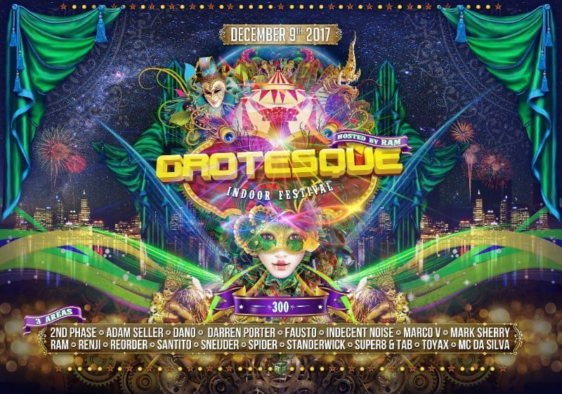 Grotesque Indoor Festival Releases Official Trailer & Floor Plan