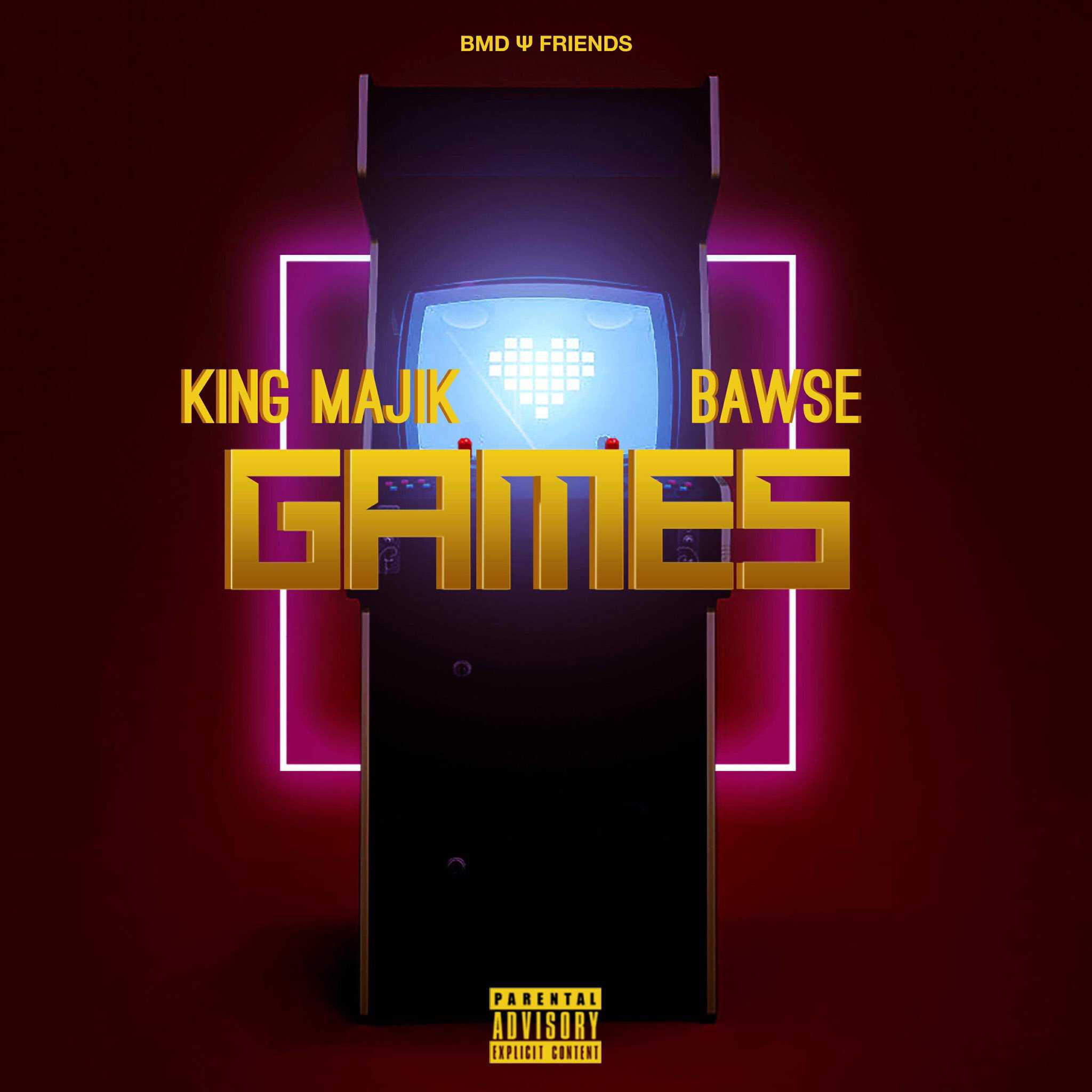 "BMD Ψ Friends kick off 2018 with ""Games"" by King Majik & Bawse"