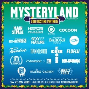 Mysteryland announce stage hosts: Hardwell's Revealed, Sexy By Nature, Cocoon, Trance Energy and more