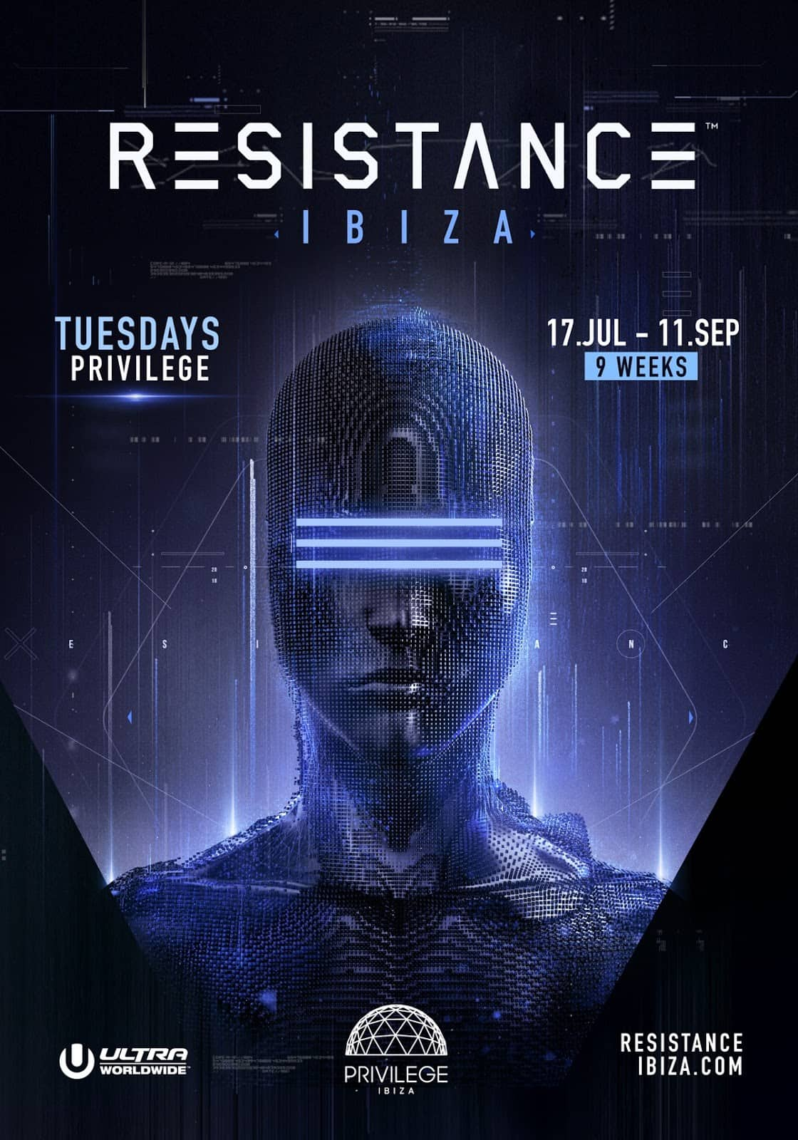 RESISTANCE Ibiza Announces 2018 Dates & Releases 2017 Aftermovie