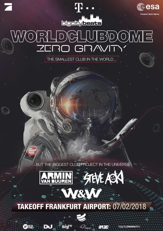World Club Dome Zero Gravity Announces Live Stream, Official Trailer Out Now