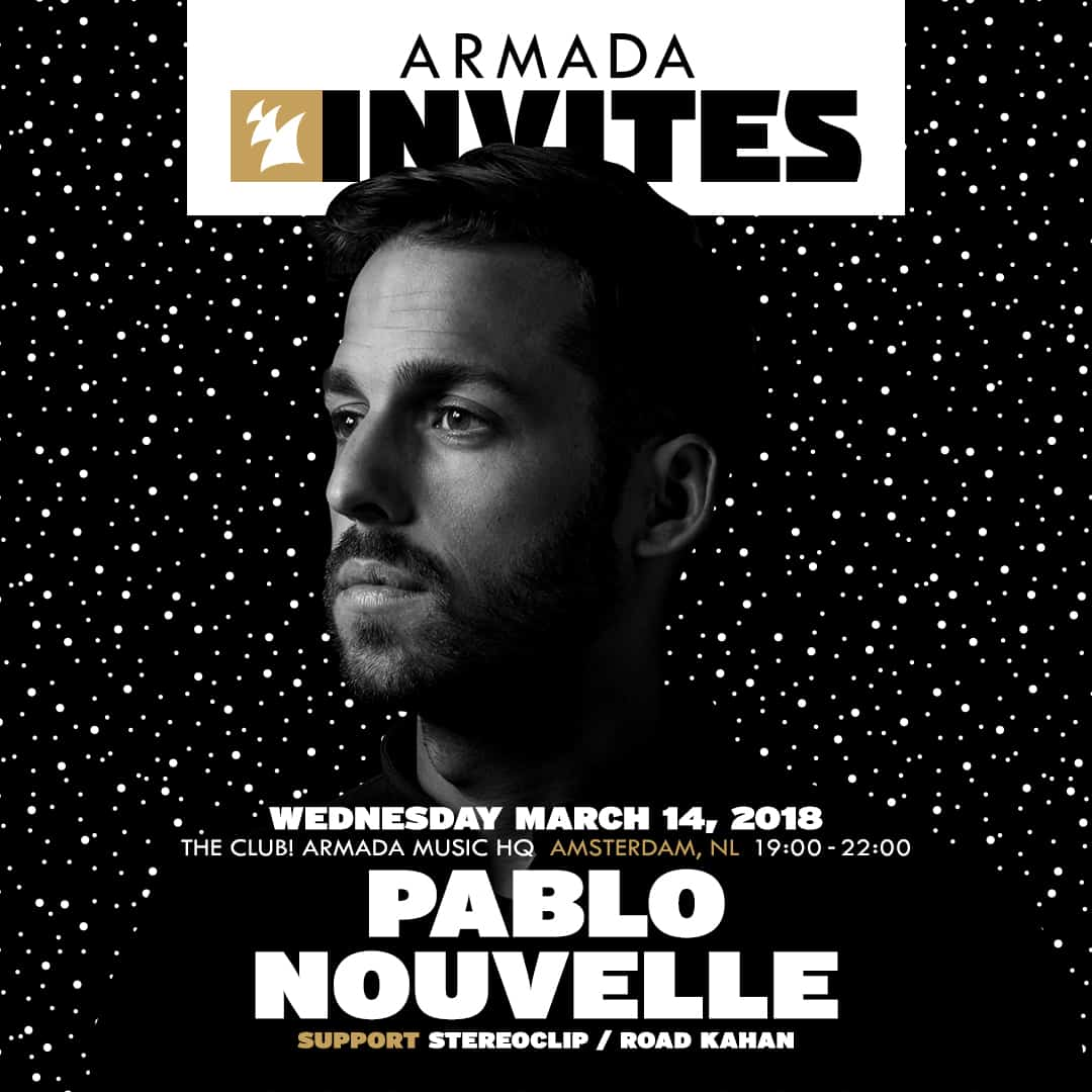 Pablo Nouvelle heads up brand-new edition of 'Armada Invites'