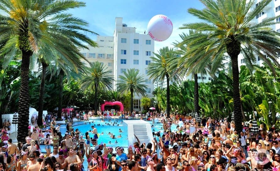 The National Hotel Announce Pool Parties for Miami Music Week 2018
