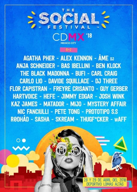 The Social Festival Mexico Announce Full Line Up