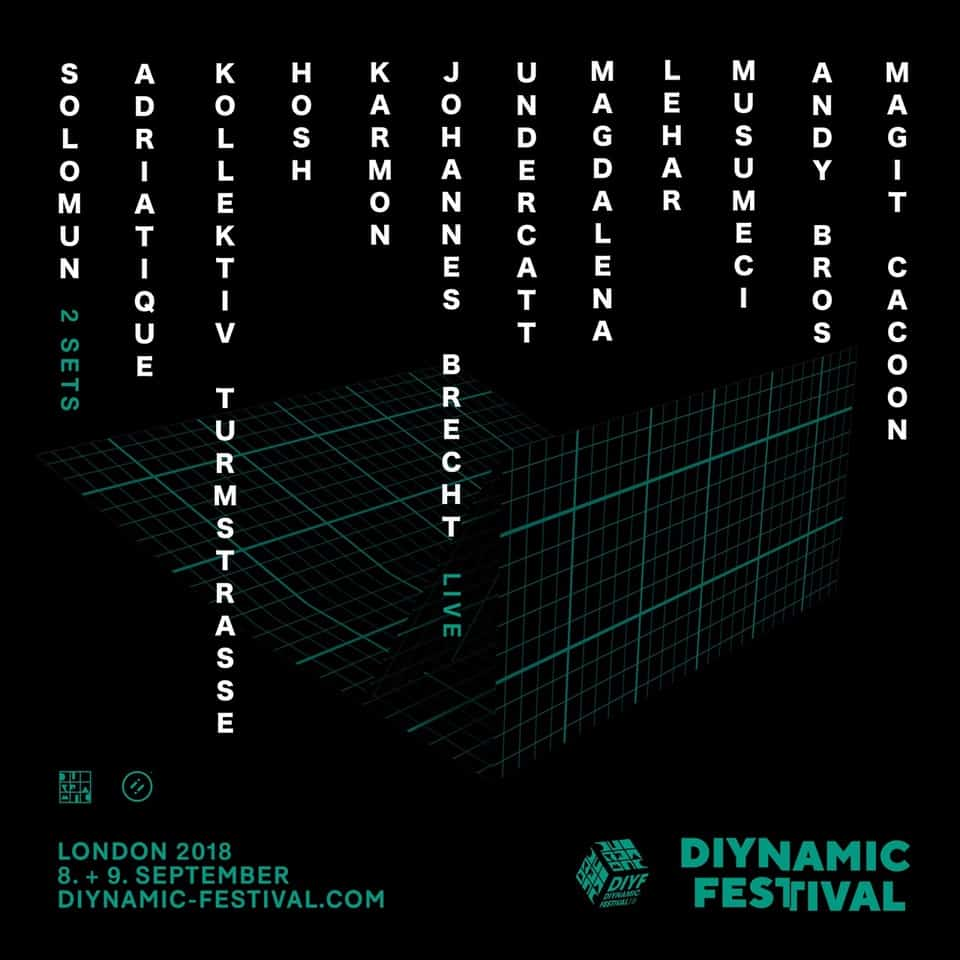 Diynamic Festival London Announces it Debut Line up, Solomun will be joined by Adriatique, Kollektiv Turmstrasse, HOSH & more