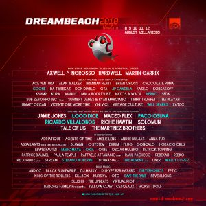 Dreambeach reveal final line-up for 2018 edition
