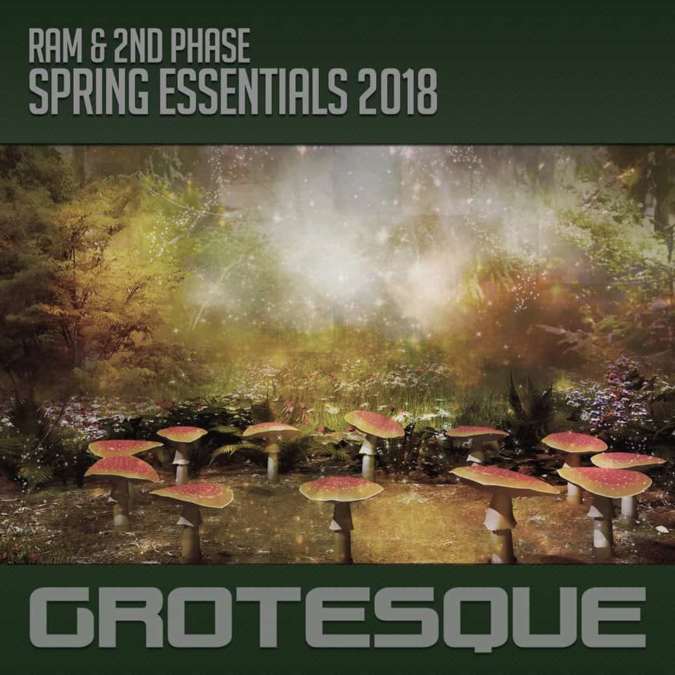 Grotesque launched special Spring Essential Compilation mixed by RAM & 2nd Phase