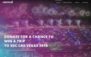 Fundraising platform Surreal reveals EDC Week Charity Initiative featuring experiences with Marshmello, Zedd, Kaskade and more
