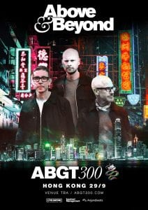 Above & Beyond bring Group Therapy to the Far East for the first time as ABGT300 celebration comes to Hong Kong on September 29