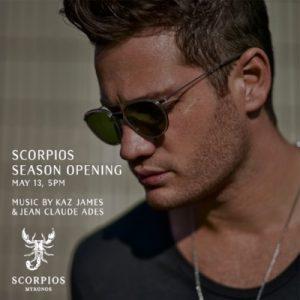 Kaz James returns to Scorpios Mykonos for weekly residency