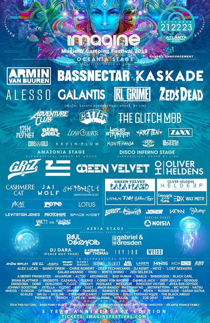 5th anniversary of Imagine Music Festival