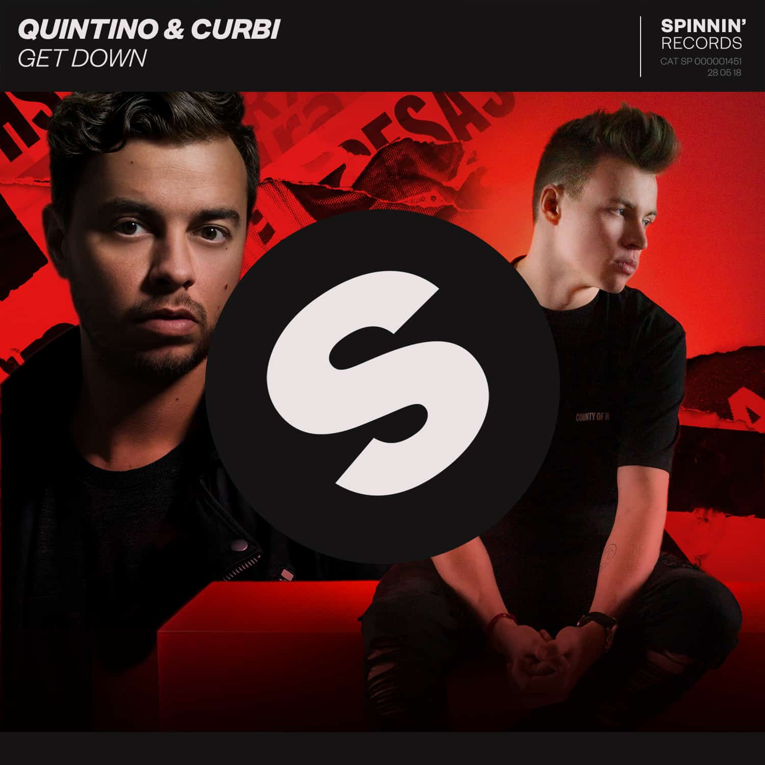 Quintino teams up with Curbi for hot collab single 'Get Down' on Spinnin' Records