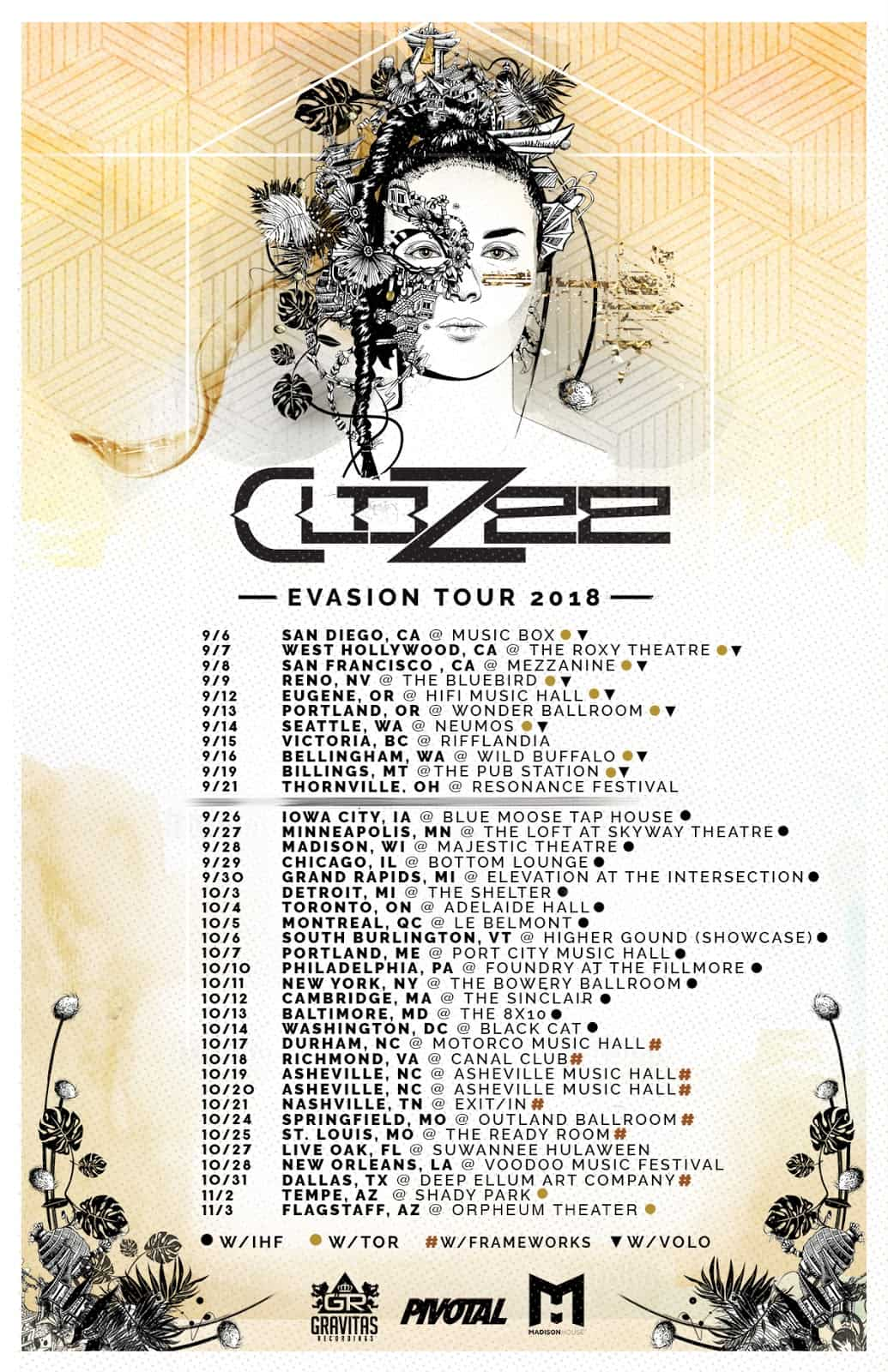 Indie electronic composer CloZee announces world tour and debut album