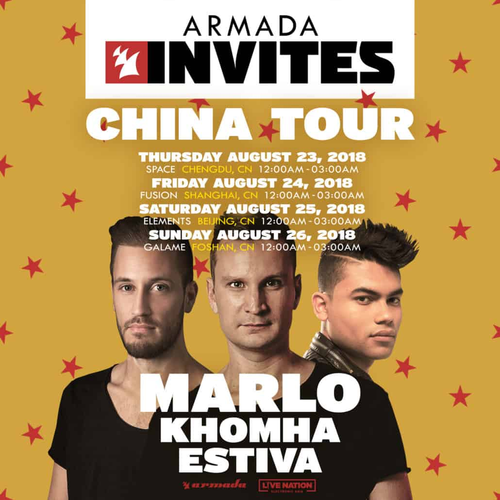 Armada Music Returns To China