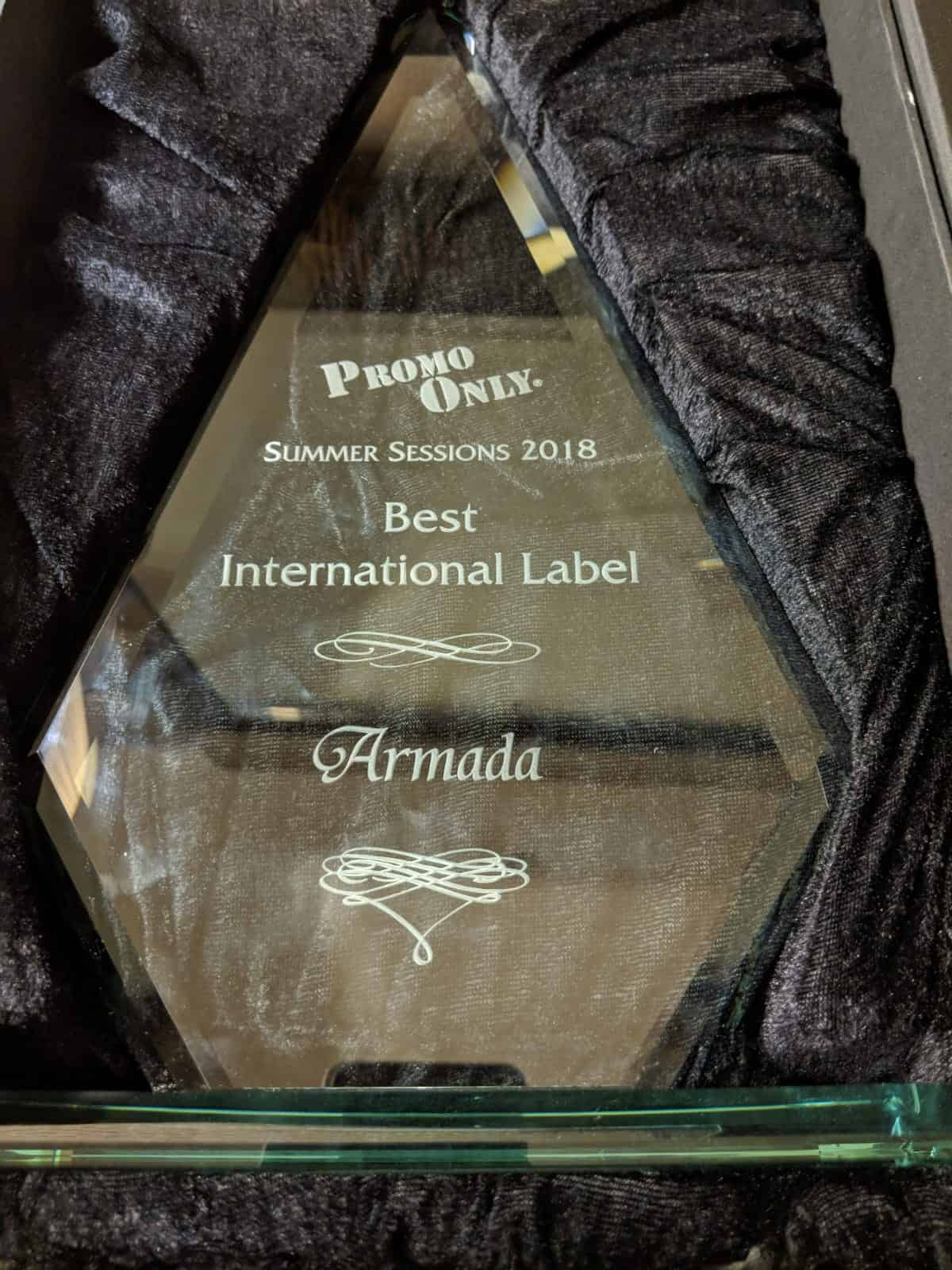 "Armada Music Snatches Up Award For ""Best International Label """