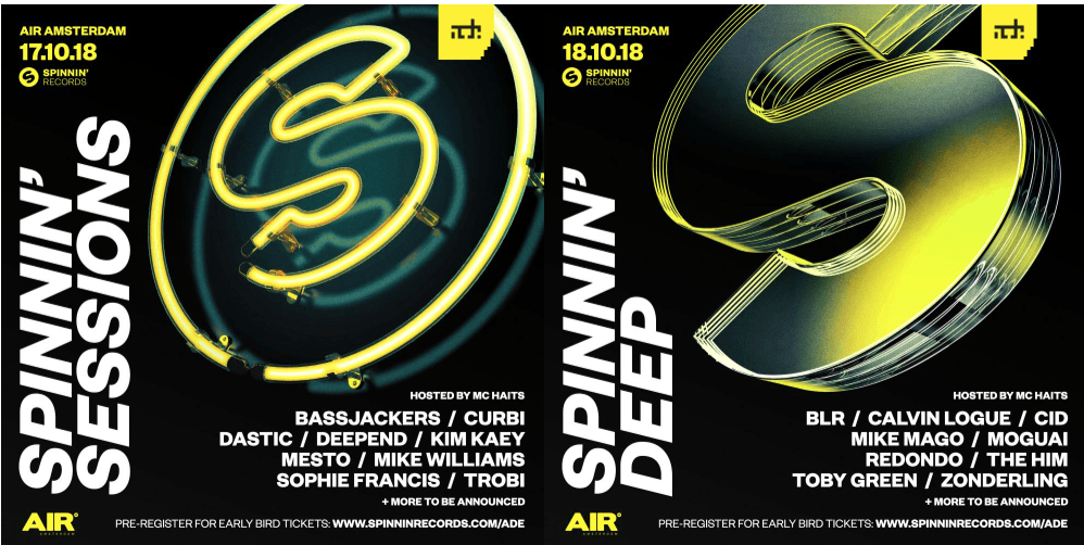 Spinnin' Records returns to ADE 2018 with two club nights