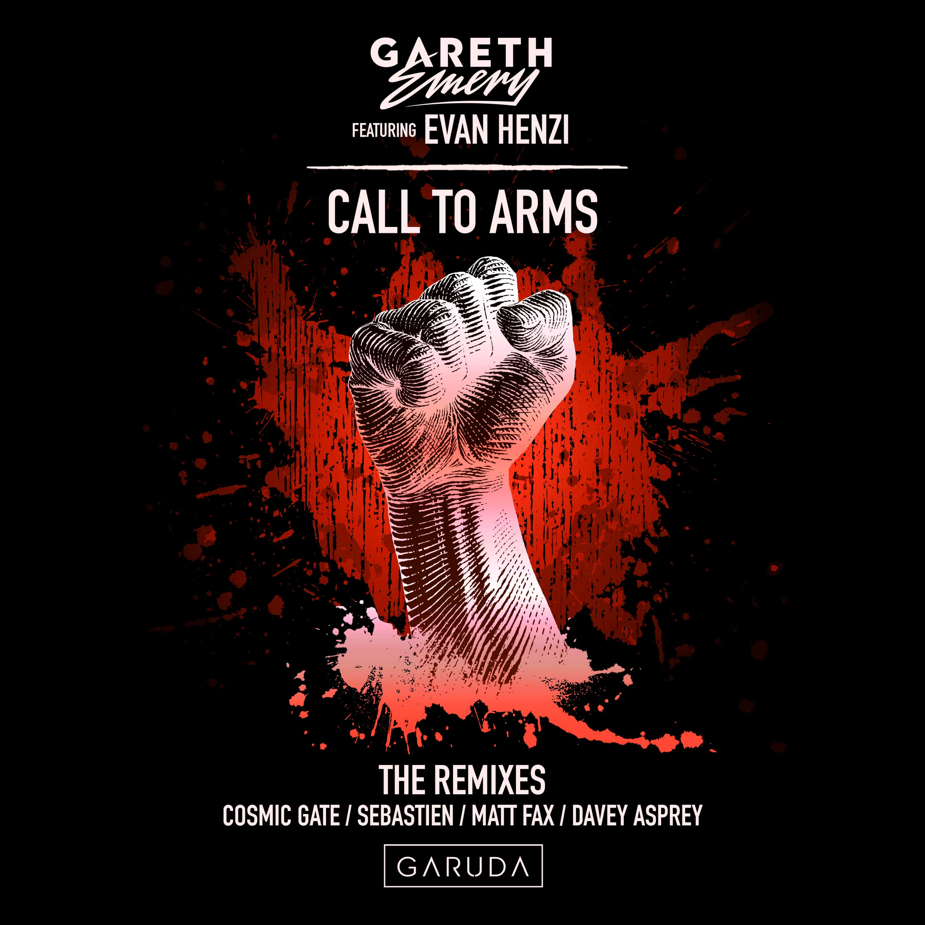 """Gareth Emery release """"Call To Arms (The Remixes)"""""""