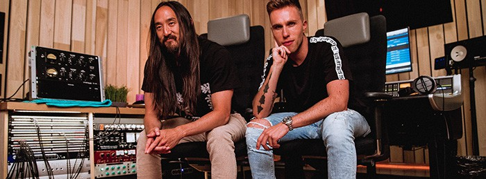 Nicky Romero and Steve Aoki Collaborate for Double Remix Swap