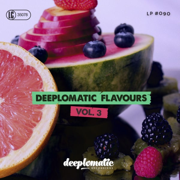 Deeplomatic Flavours Vol.3 album with 20 promising artists