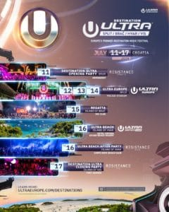 ULTRA Europe 2019 Tickets On Sale