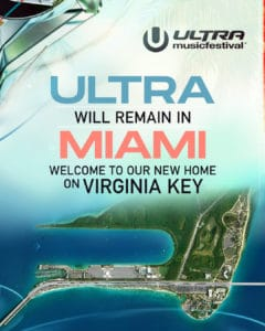 Ultra Music Festival Relocates to Virginia Key