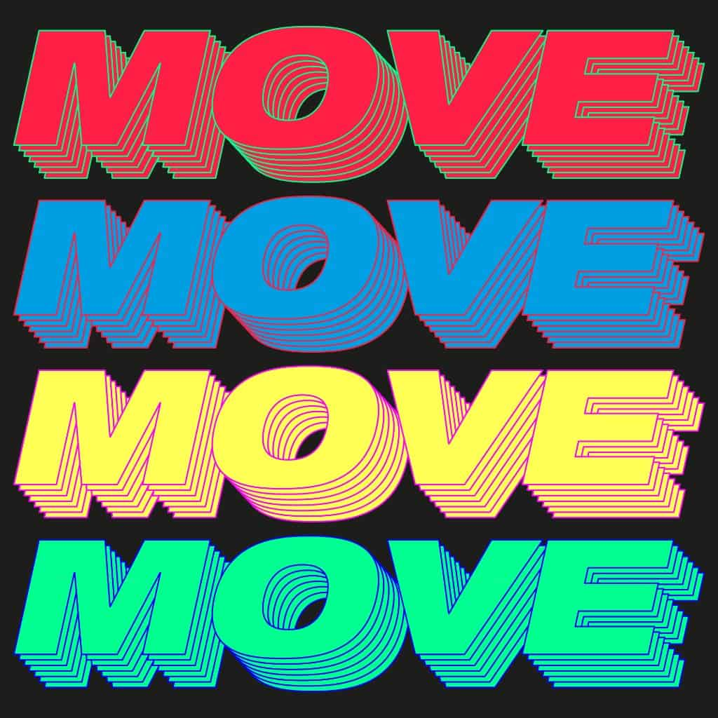 Young Romantic Releases 'Move (Time To Get Loose) Remixes'