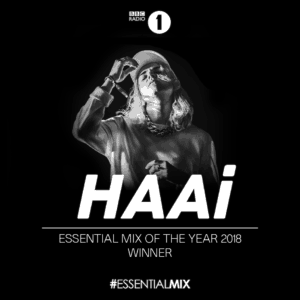 HAAi wins BBC Essential Mix of the Year