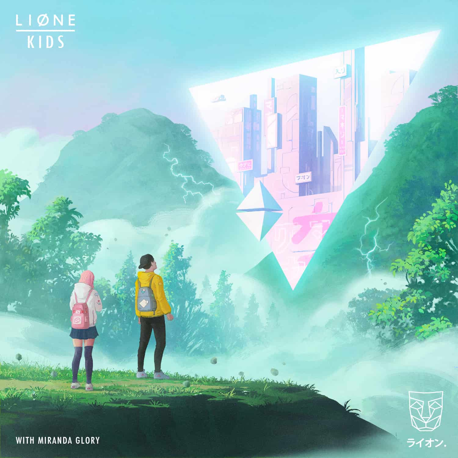 LIONE delivers a future bass styled new record: Kids